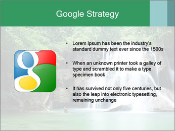 Exotic Waterfall PowerPoint Template - Slide 10