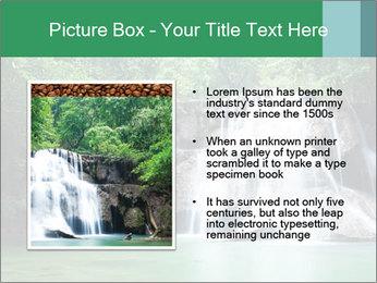 Exotic Waterfall PowerPoint Template - Slide 13