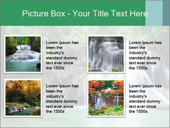 Exotic Waterfall PowerPoint Template - Slide 14