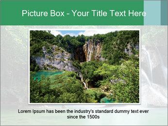 Exotic Waterfall PowerPoint Template - Slide 15