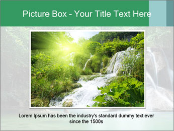 Exotic Waterfall PowerPoint Template - Slide 16