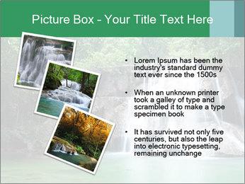 Exotic Waterfall PowerPoint Template - Slide 17