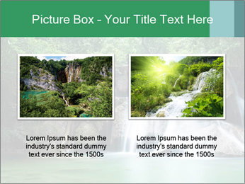 Exotic Waterfall PowerPoint Template - Slide 18
