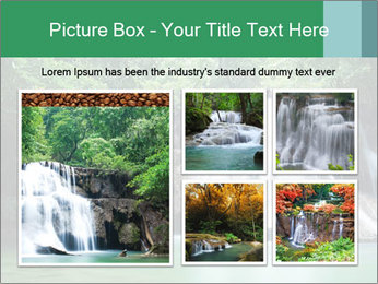 Exotic Waterfall PowerPoint Template - Slide 19