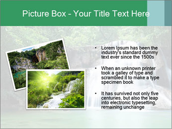 Exotic Waterfall PowerPoint Template - Slide 20