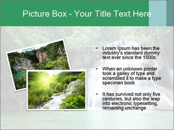 Exotic Waterfall PowerPoint Template - Slide 20
