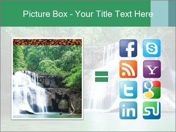 Exotic Waterfall PowerPoint Template - Slide 21