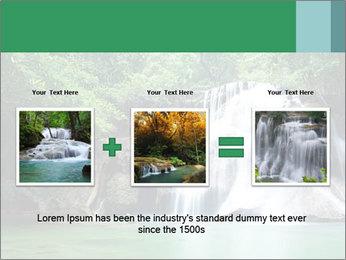 Exotic Waterfall PowerPoint Template - Slide 22