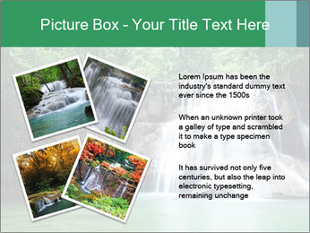 Exotic Waterfall PowerPoint Template - Slide 23