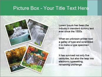 Exotic Waterfall PowerPoint Template - Slide 23