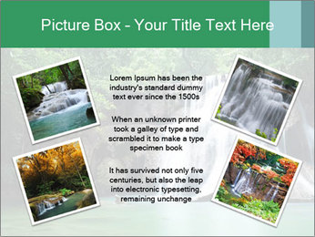 Exotic Waterfall PowerPoint Template - Slide 24