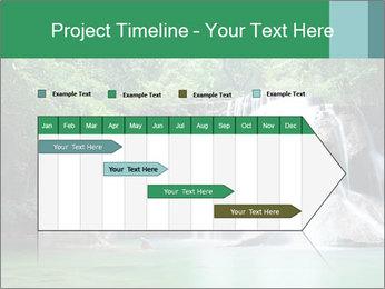 Exotic Waterfall PowerPoint Template - Slide 25