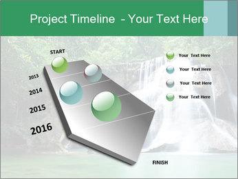 Exotic Waterfall PowerPoint Template - Slide 26