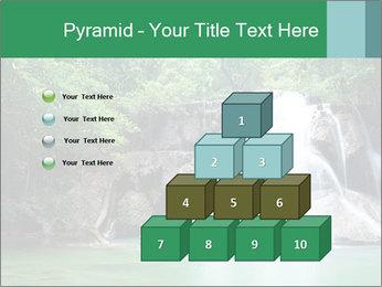 Exotic Waterfall PowerPoint Template - Slide 31