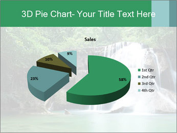 Exotic Waterfall PowerPoint Template - Slide 35
