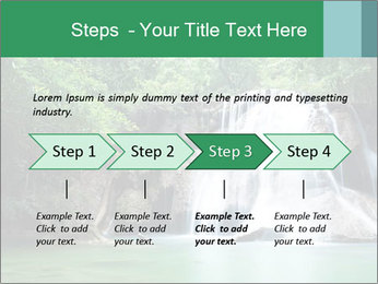 Exotic Waterfall PowerPoint Template - Slide 4