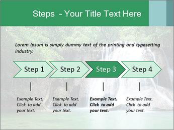 Exotic Waterfall PowerPoint Template - Slide 4