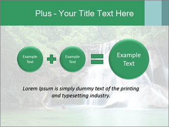 Exotic Waterfall PowerPoint Template - Slide 75