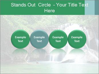 Exotic Waterfall PowerPoint Template - Slide 76
