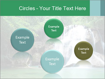 Exotic Waterfall PowerPoint Template - Slide 77