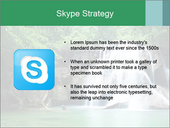 Exotic Waterfall PowerPoint Template - Slide 8