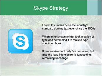 Exotic Waterfall PowerPoint Template - Slide 8