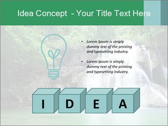Exotic Waterfall PowerPoint Template - Slide 80