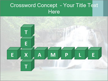 Exotic Waterfall PowerPoint Template - Slide 82