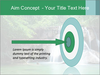 Exotic Waterfall PowerPoint Template - Slide 83