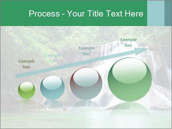 Exotic Waterfall PowerPoint Template - Slide 87