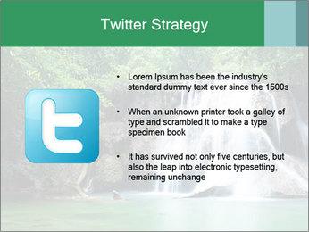 Exotic Waterfall PowerPoint Template - Slide 9