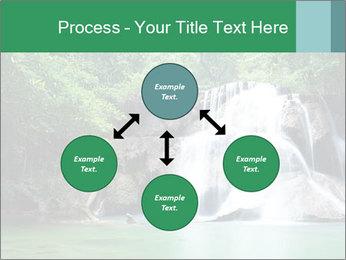 Exotic Waterfall PowerPoint Template - Slide 91