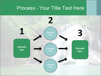 Exotic Waterfall PowerPoint Template - Slide 92