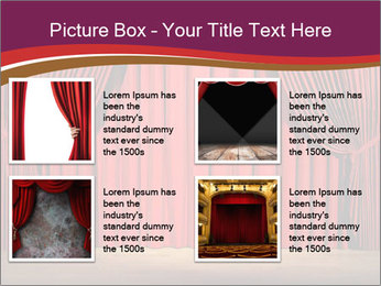 Classic Stage PowerPoint Template - Slide 14