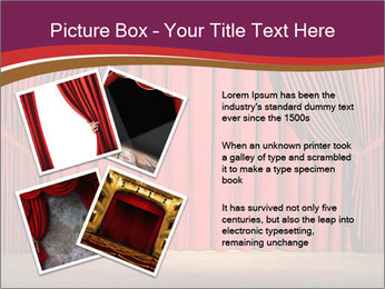 Classic Stage PowerPoint Template - Slide 23