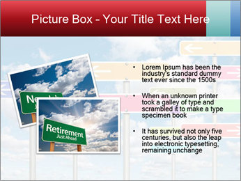 Colorful Road Signs PowerPoint Template - Slide 20