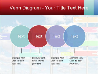 Colorful Road Signs PowerPoint Template - Slide 32