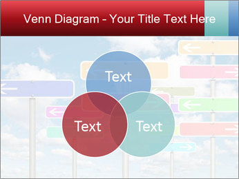 Colorful Road Signs PowerPoint Template - Slide 33