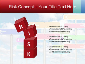 Colorful Road Signs PowerPoint Template - Slide 81
