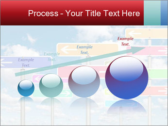 Colorful Road Signs PowerPoint Template - Slide 87