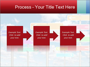Colorful Road Signs PowerPoint Template - Slide 88