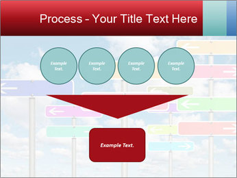 Colorful Road Signs PowerPoint Template - Slide 93