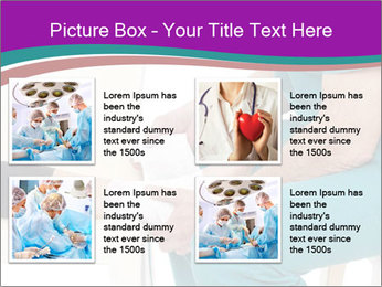 Doctor Makes Bandage PowerPoint Template - Slide 14