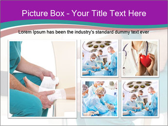 Doctor Makes Bandage PowerPoint Template - Slide 19