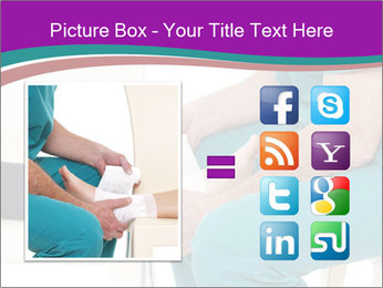 Doctor Makes Bandage PowerPoint Template - Slide 21