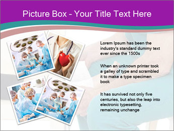 Doctor Makes Bandage PowerPoint Template - Slide 23