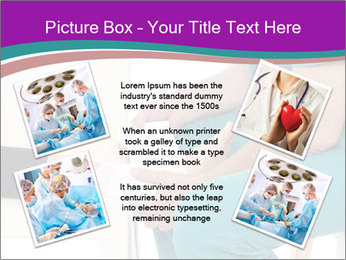 Doctor Makes Bandage PowerPoint Template - Slide 24