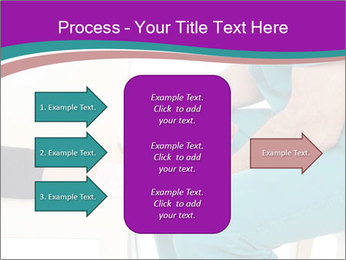 Doctor Makes Bandage PowerPoint Template - Slide 85