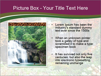 Waterfall In Thailand PowerPoint Template - Slide 13