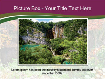 Waterfall In Thailand PowerPoint Templates - Slide 16